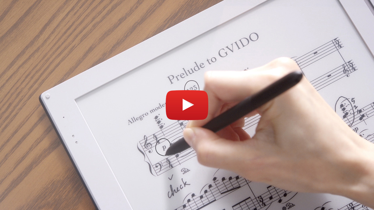 DIGITAL MUSIC SCORE GVIDO
